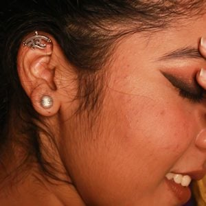 Noor Clip On Earring Lifestyle Image