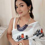 Traditional Layered Blue Beads Mala Necklace