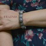 silver-lookalike-brass-oxidised-boho-statement-motif-bangle-adjustable-4