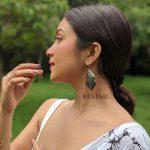 Silver Lookalike Brass Oxidised Square Statement Jhumki Earrings